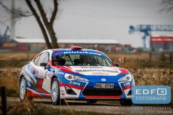 Gerben Heisterkamp - Hans van Goor - Toyota GT86 - Zuiderzee Short Rally 2016