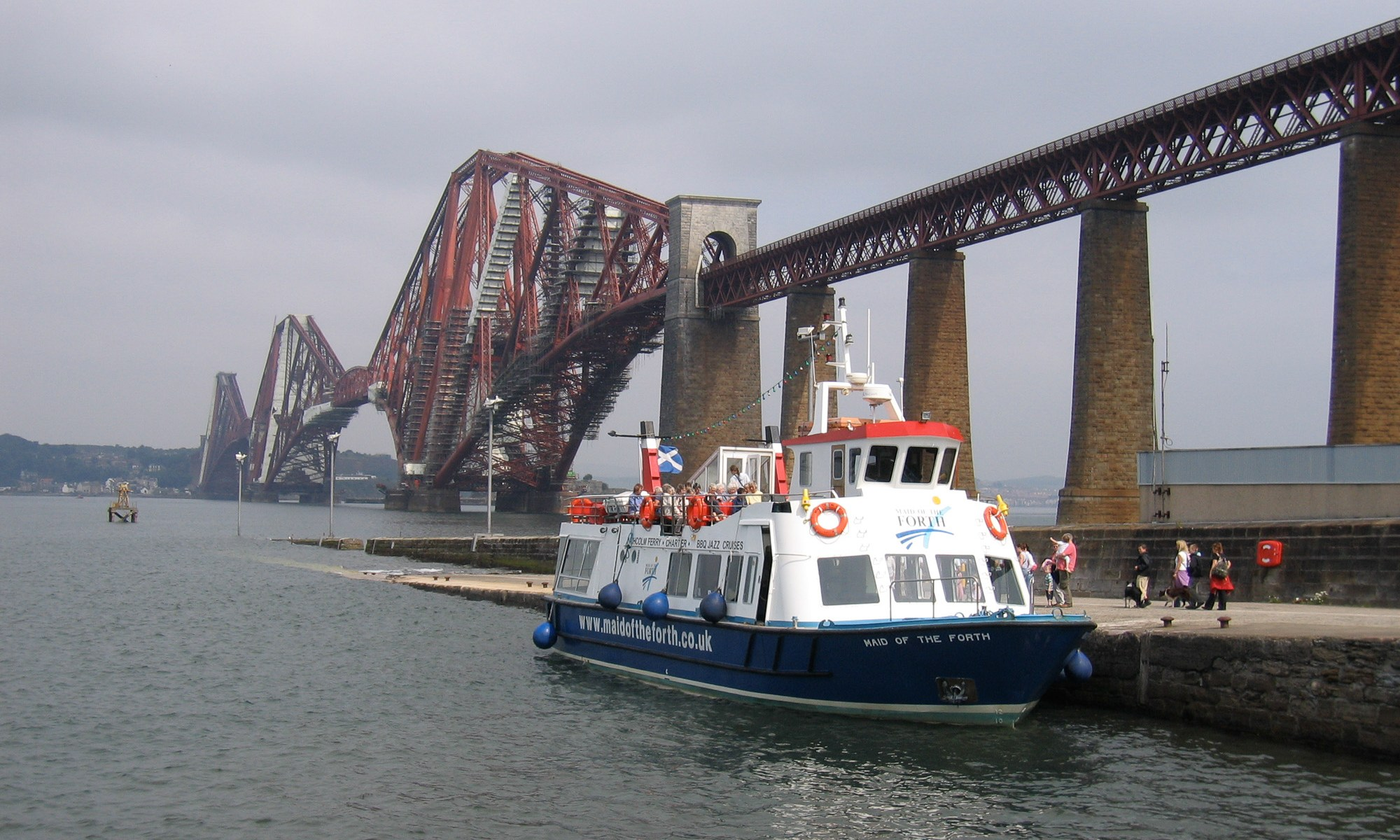 Boat trip on the Firth of Forth