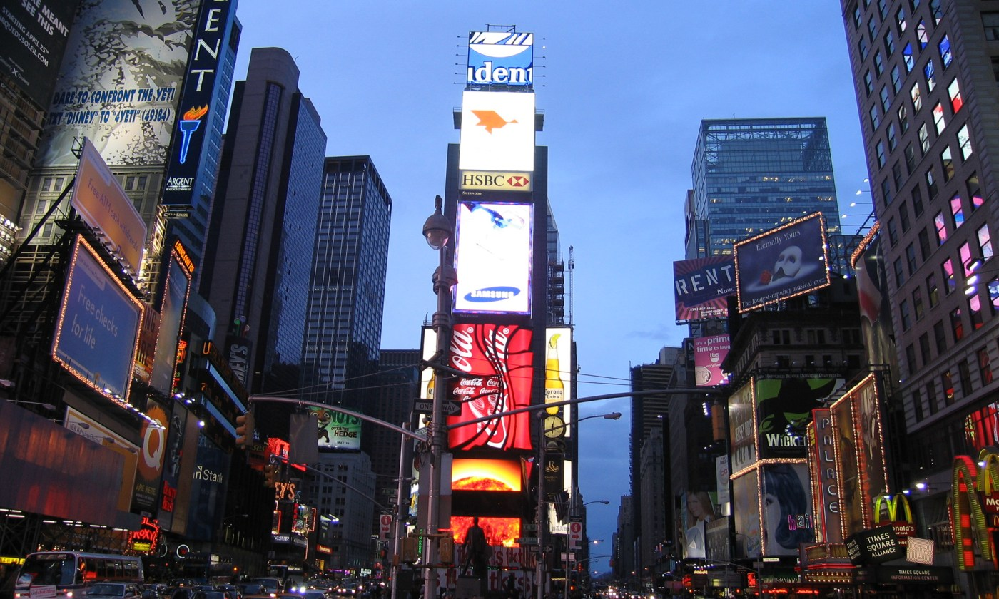 Time Square, New York at Dusk