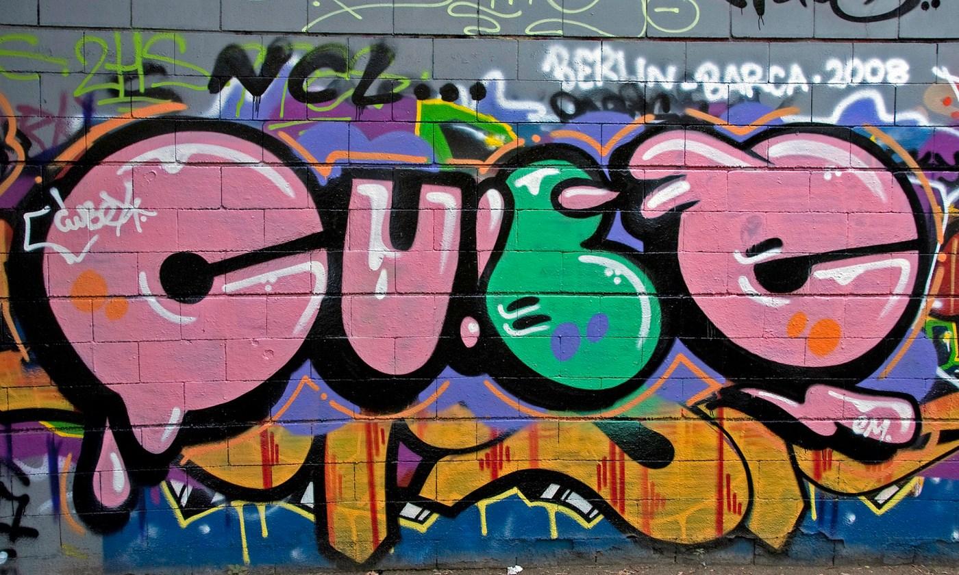 Cube - Barcelona Graffiti