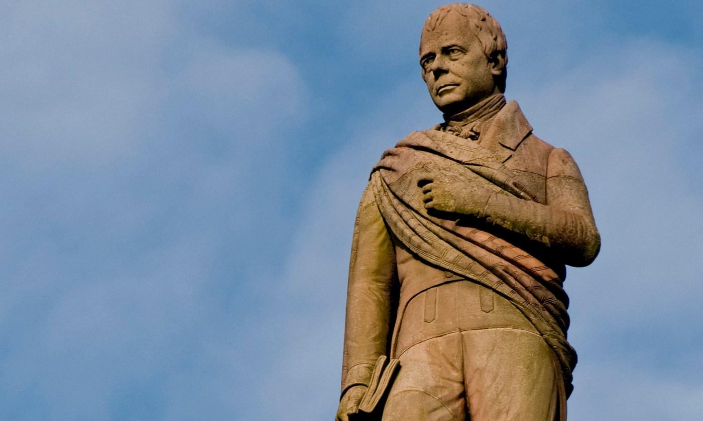 Sir Walter Scott, George Square, Glasgow