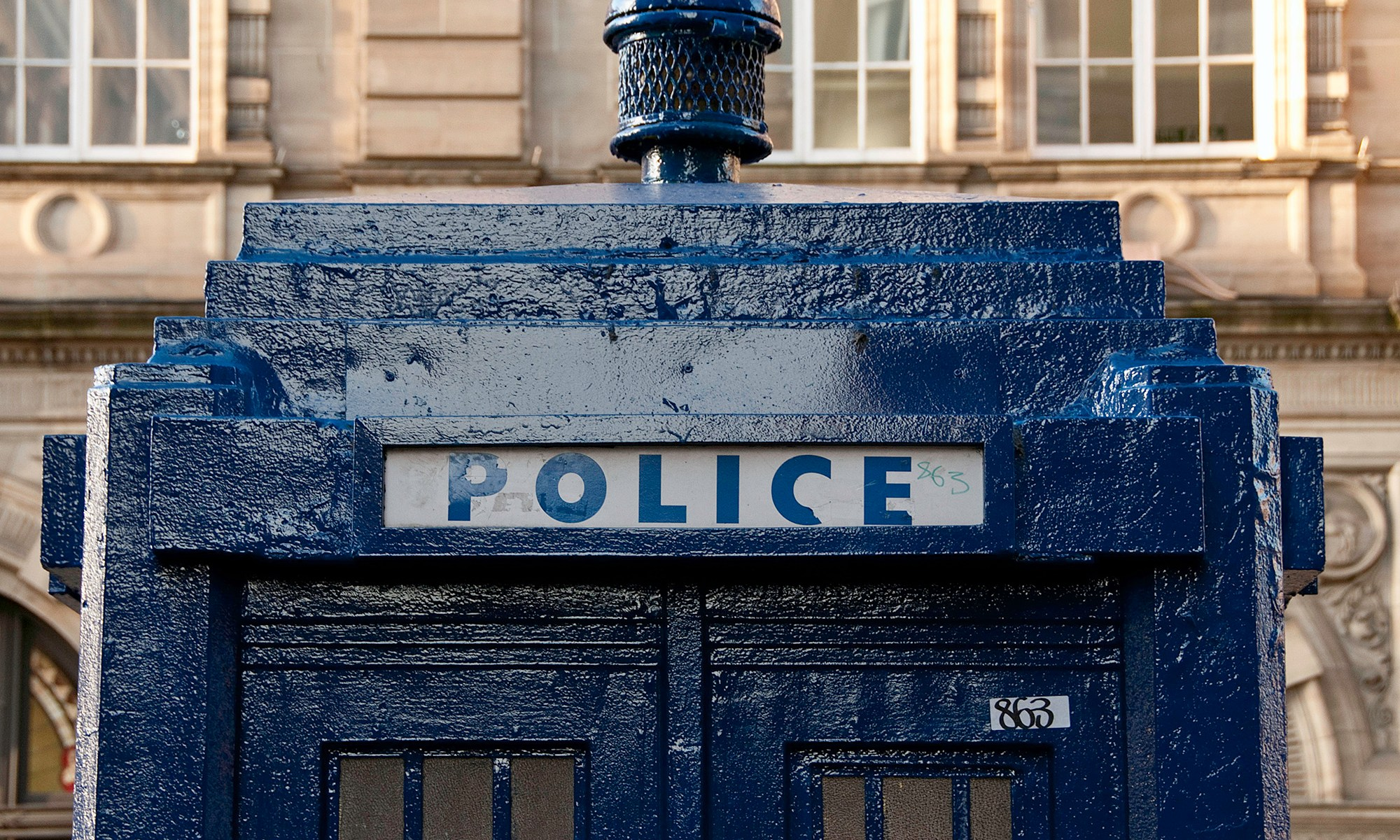 Police Telephone Box Scotland