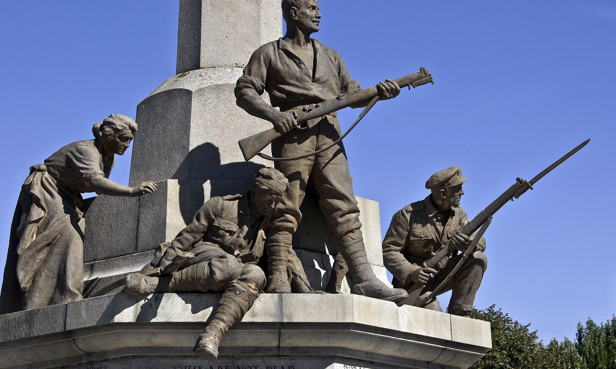 War Memorial detail at Port Sunlight