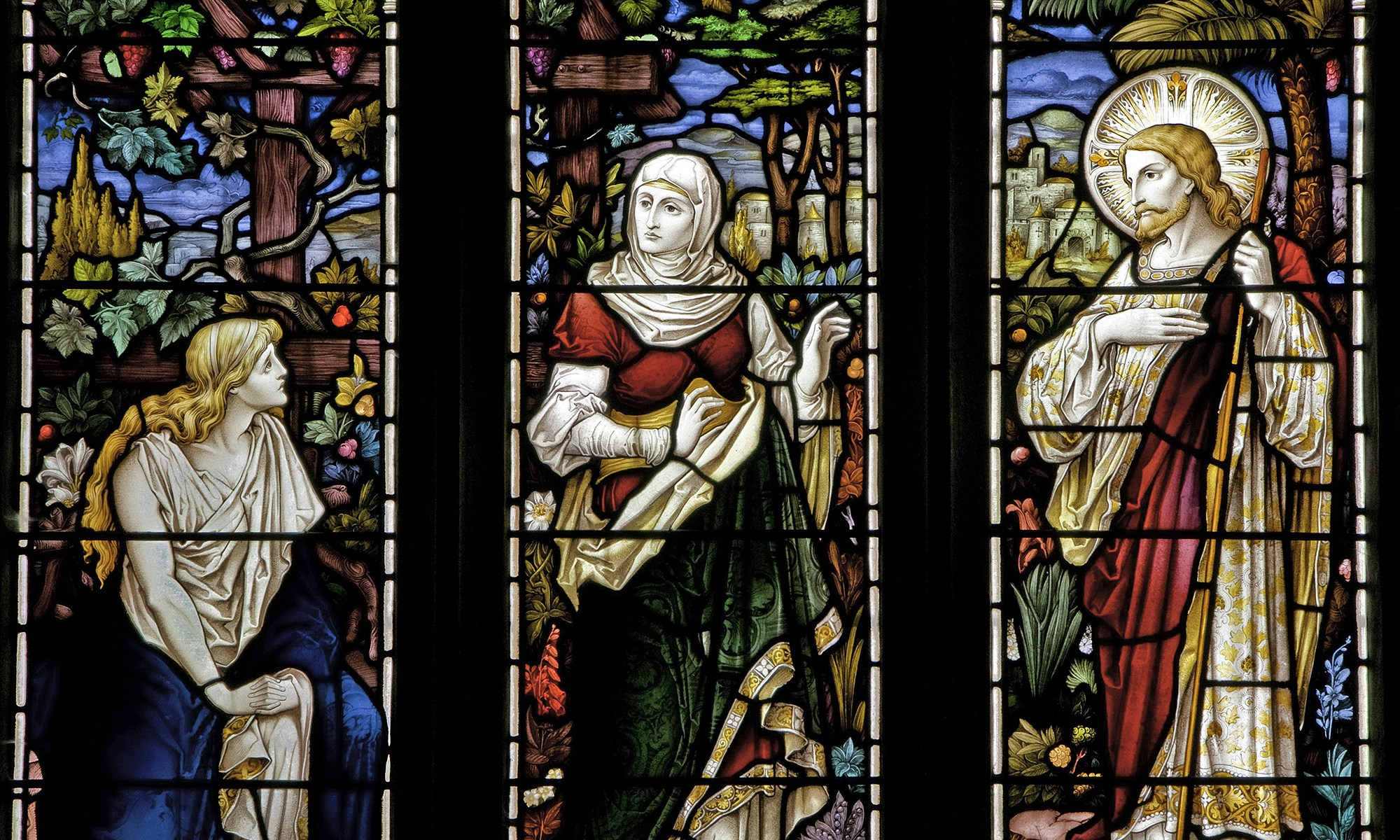 All Saints Stained Glass at Orton Church