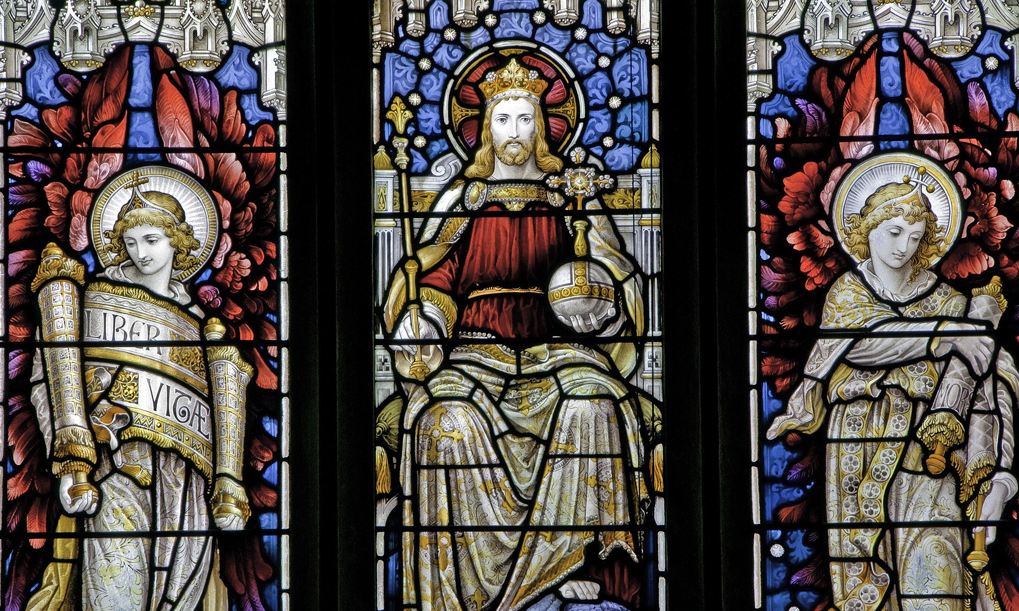 The King of Stained Glass at All Saints in Orton