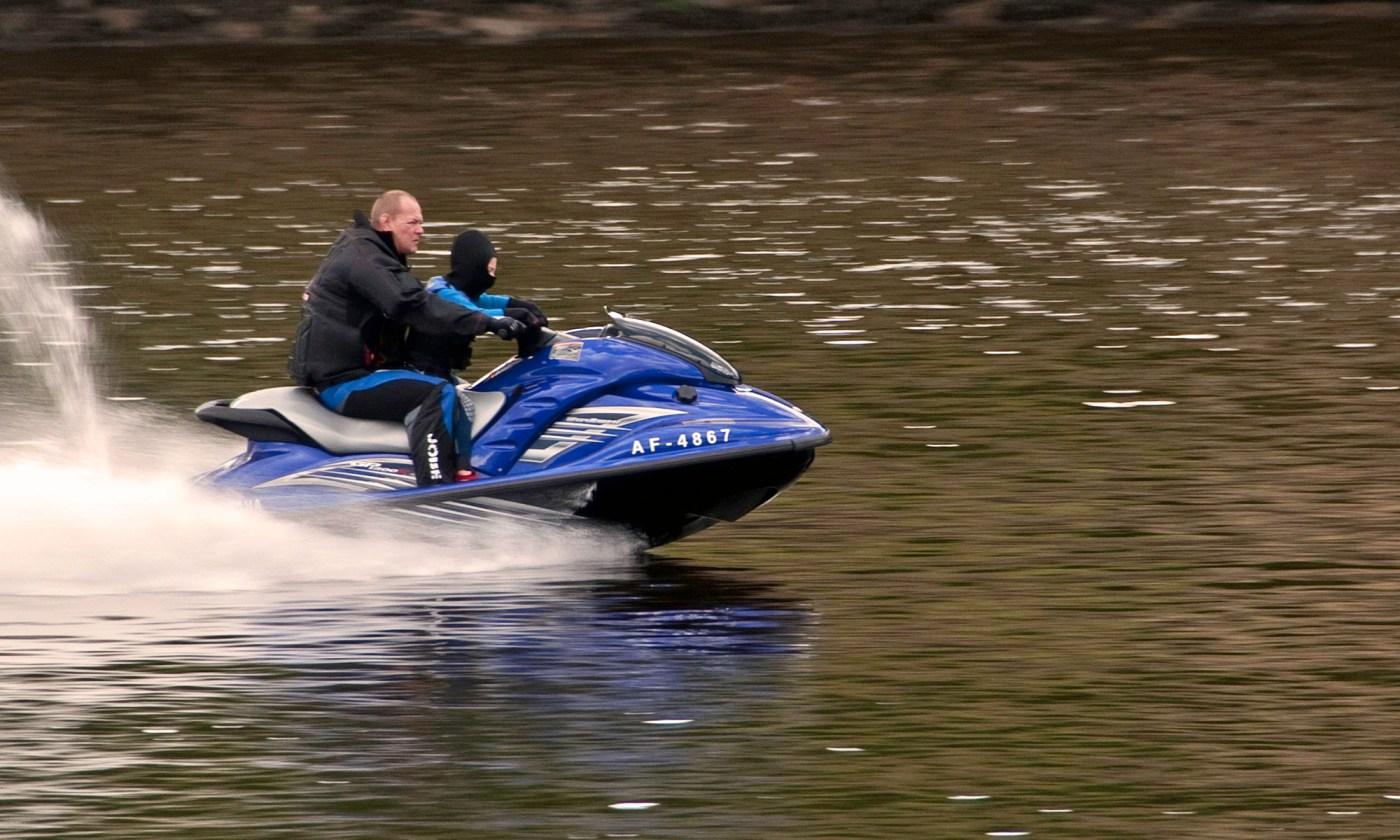 Jetski on River Tyne