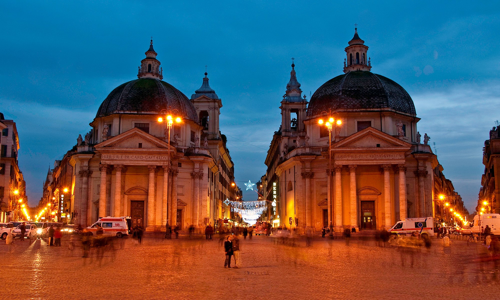 Twin Churches of Piazza del Popolo, Rome