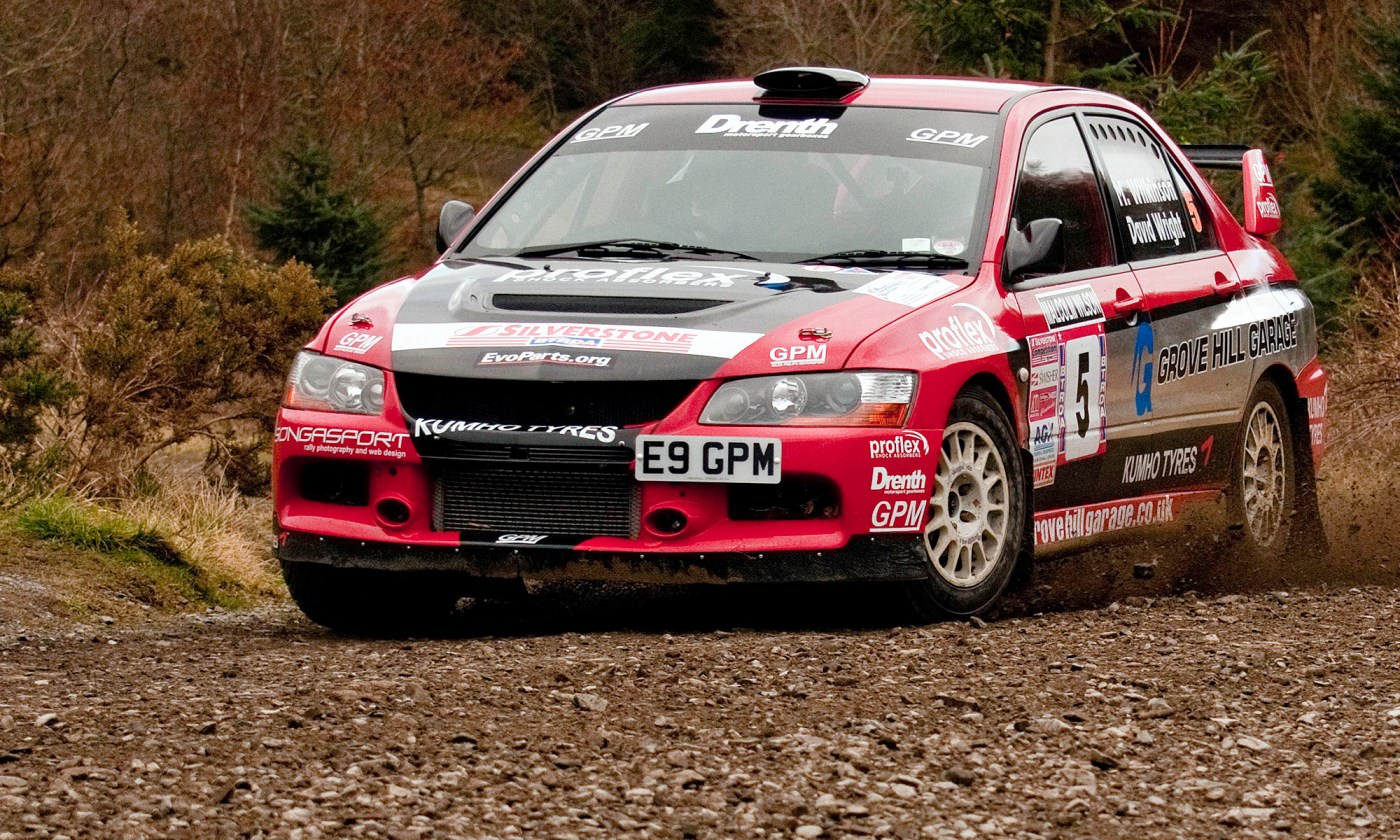 Mitsubishi EVO 9 Rally Car