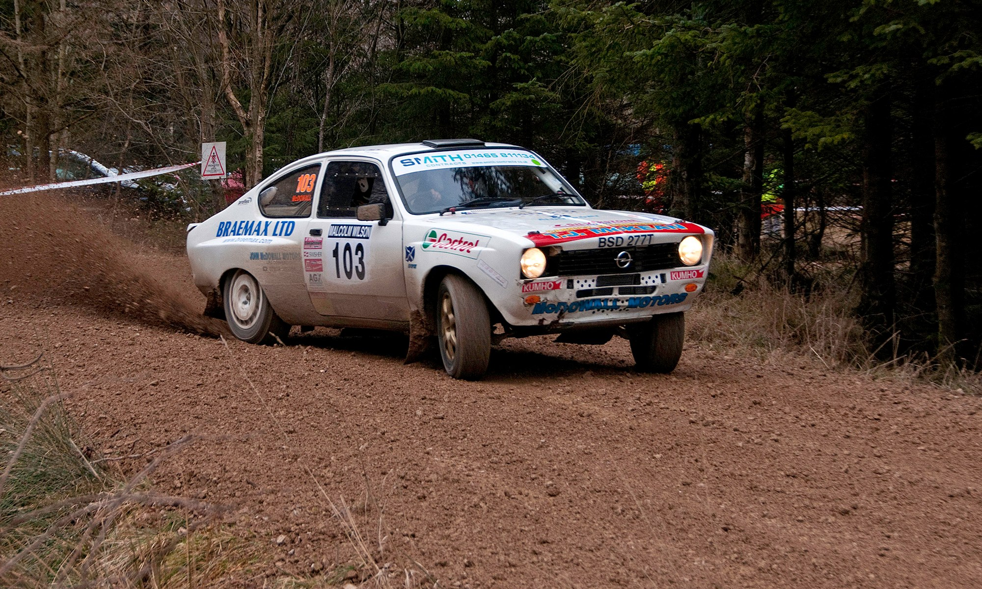 Opel Kadett Rally Car