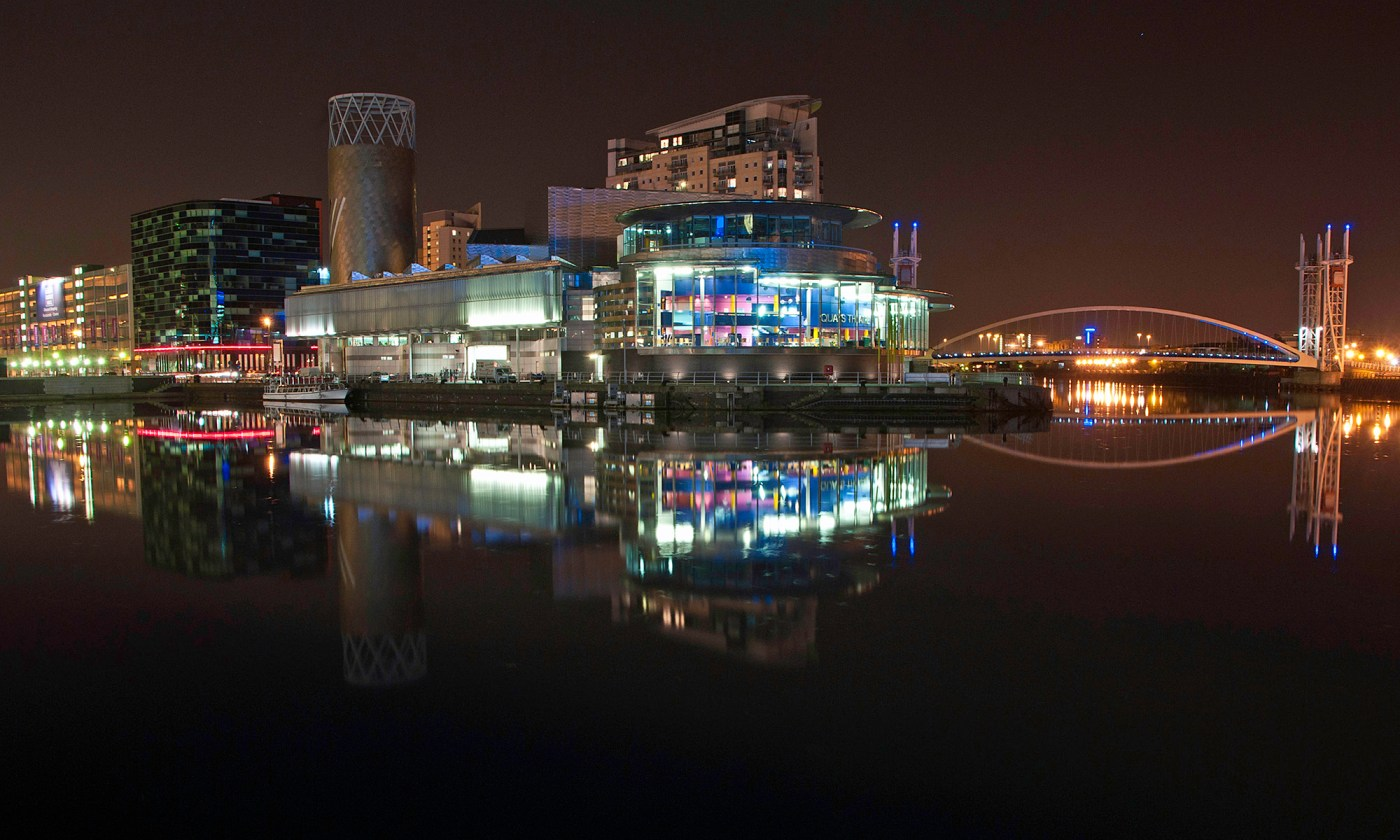 The Lowry from Media City