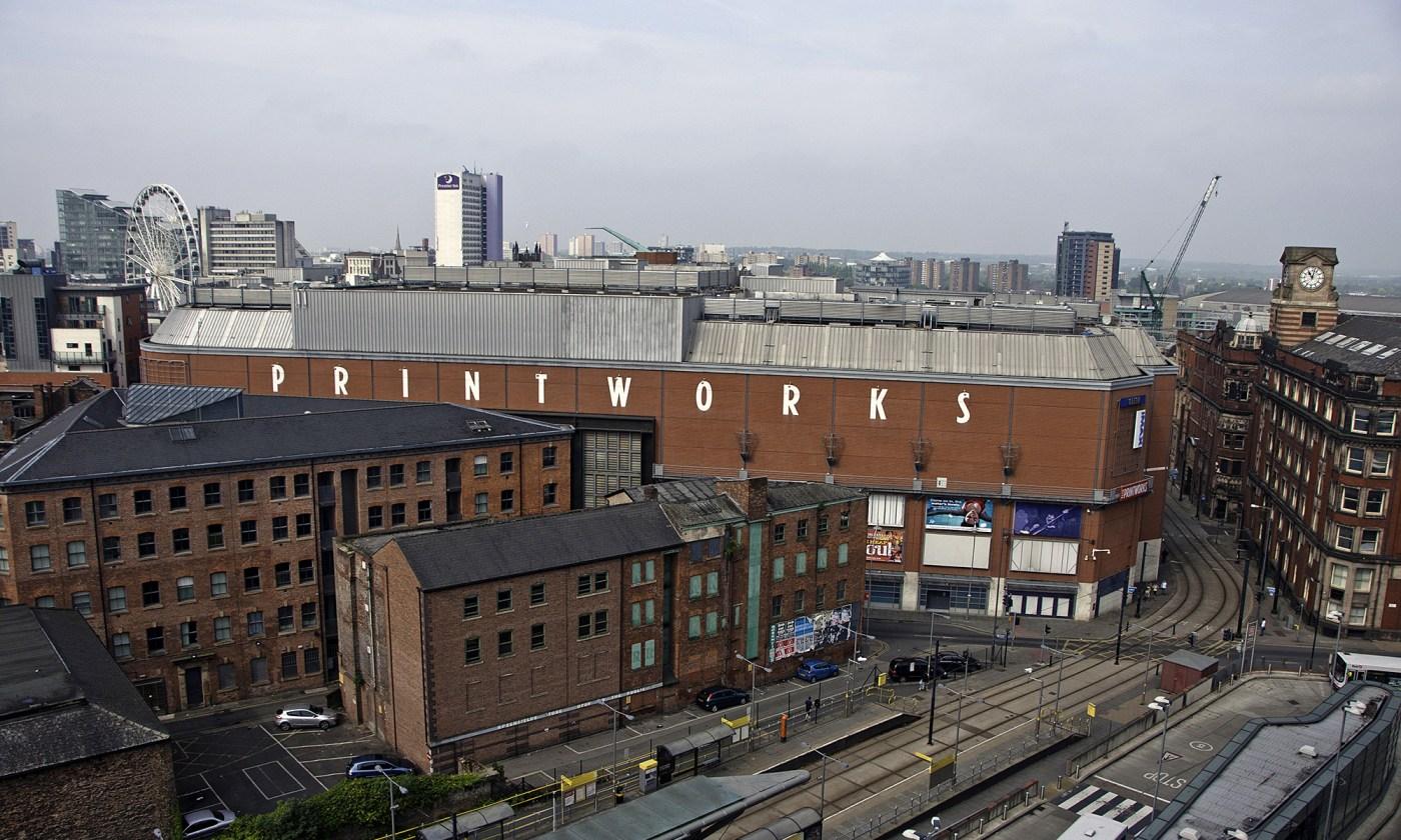 Printworks Exterior Manchester