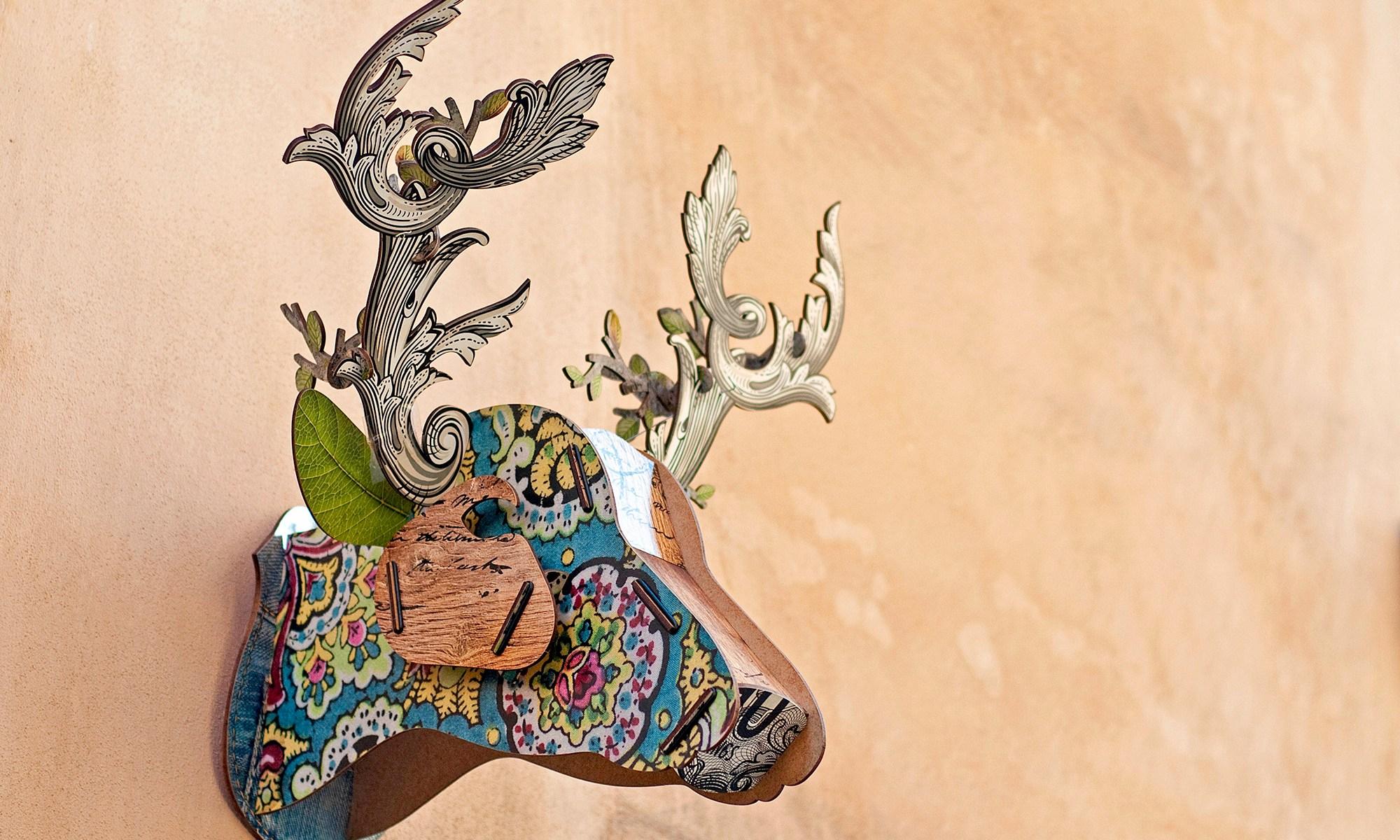 Deer Art Model