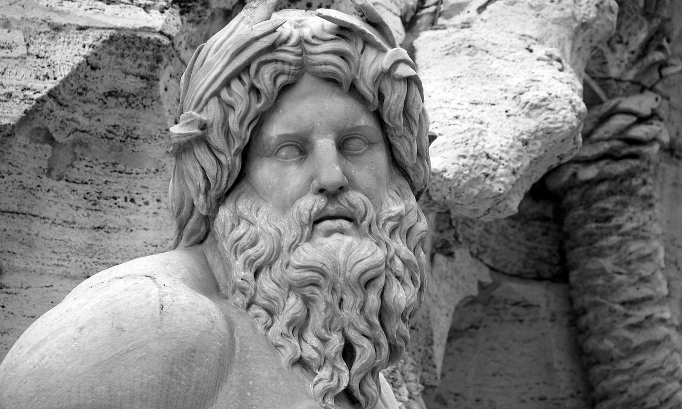 Fontana dei Quattro Fiumi Detail