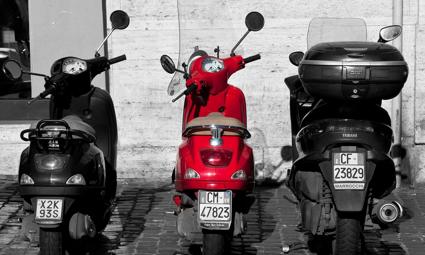 Trio of Scooters