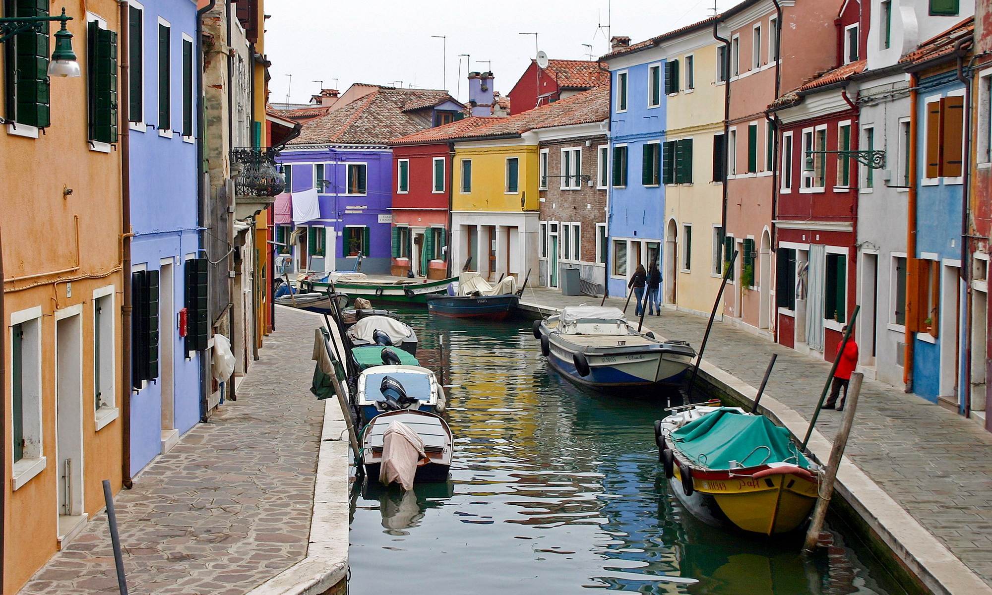 Colourful Houses of Burano, Italy