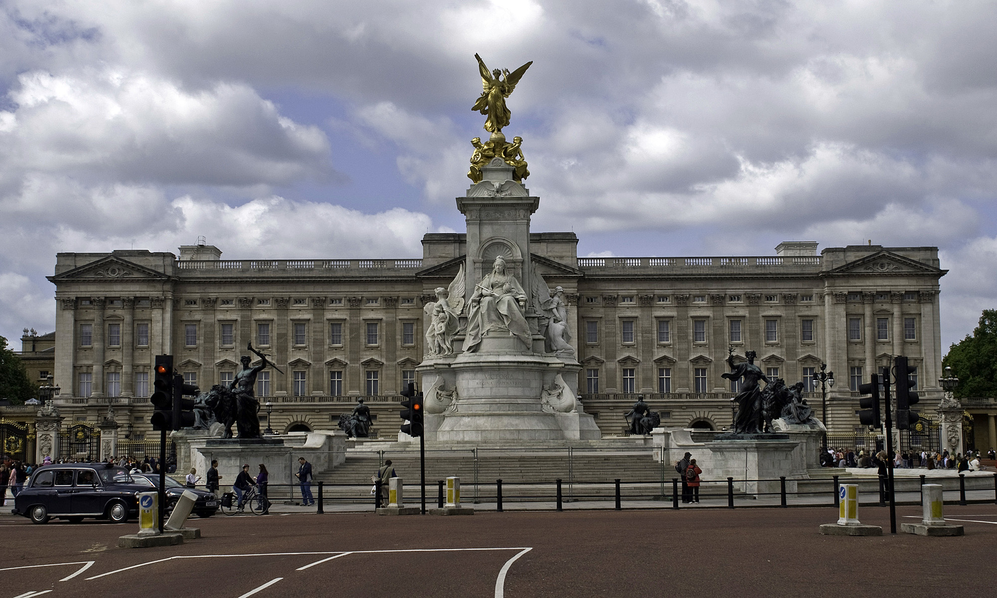 Buckingham Palace from the Mall