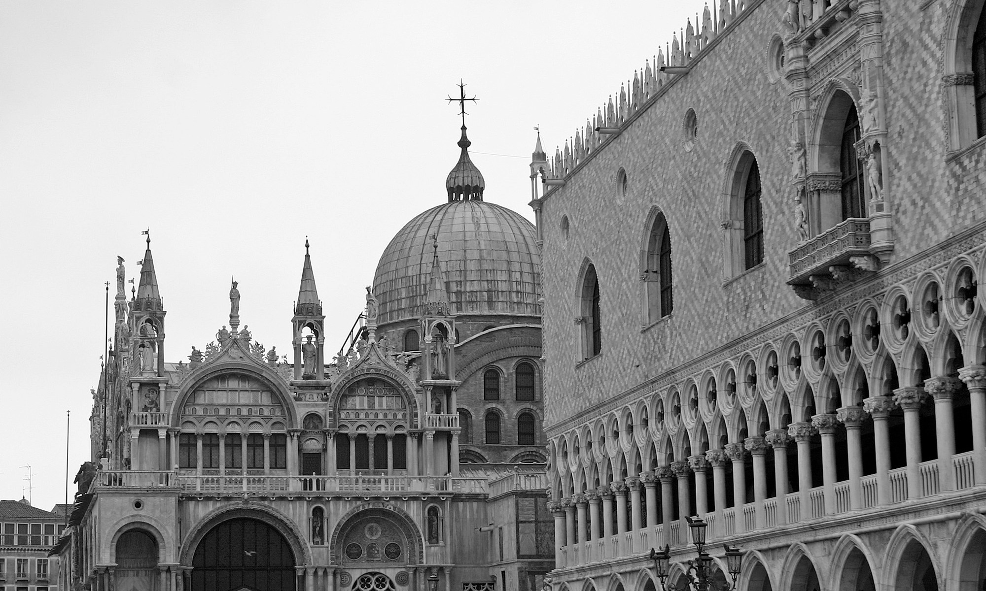 St Mark's Basilica and Doge's Palace Venice