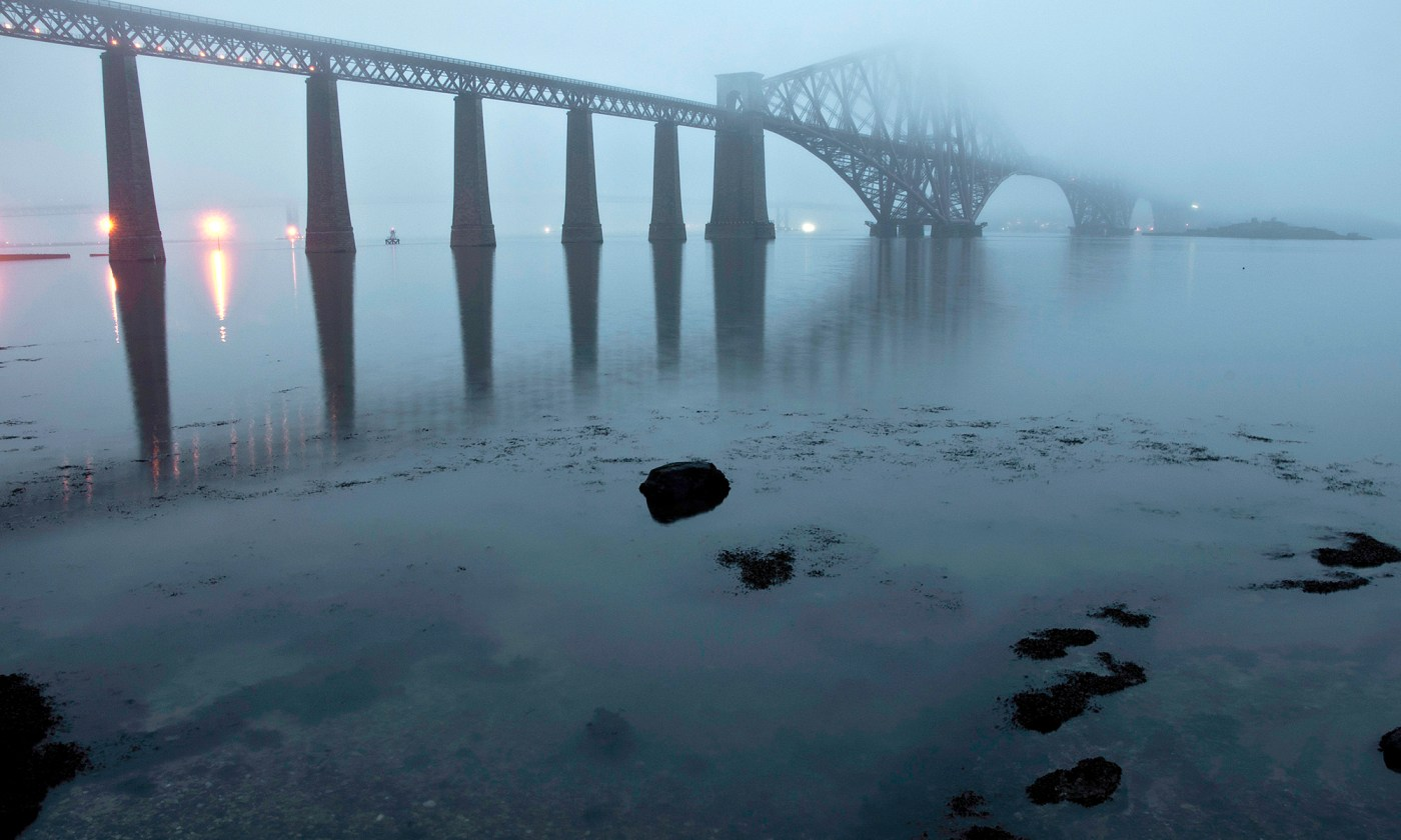 Forth Bridge in the Mist