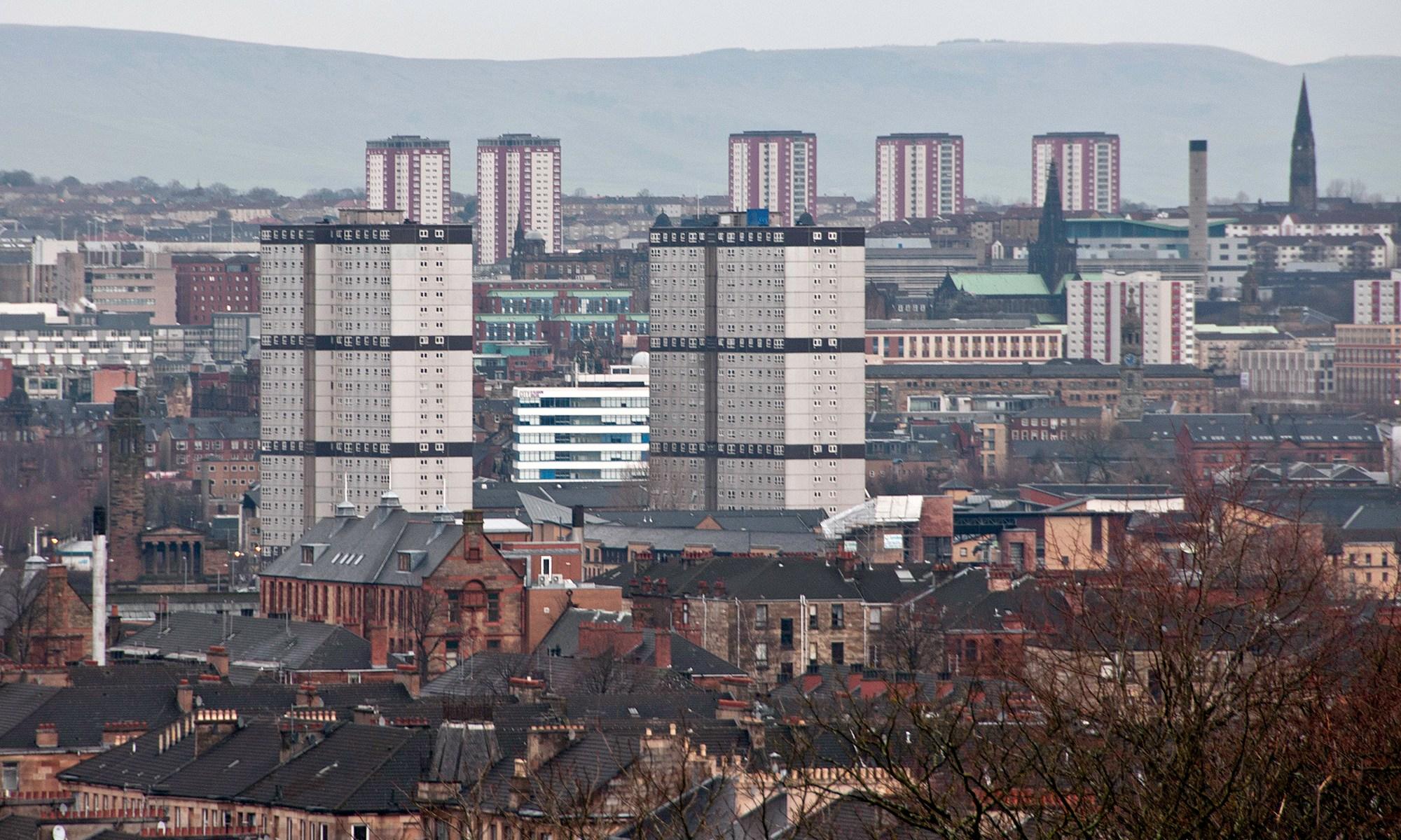 Glasgow Tower Blocks