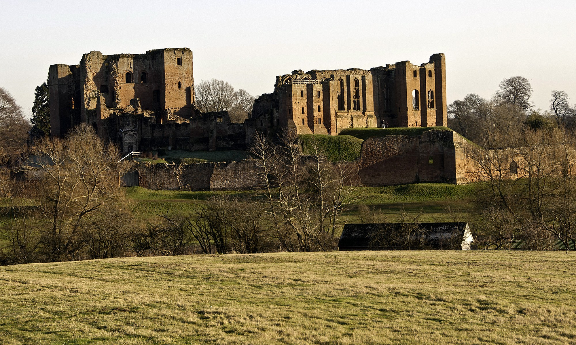Kenilworth Castle from the West