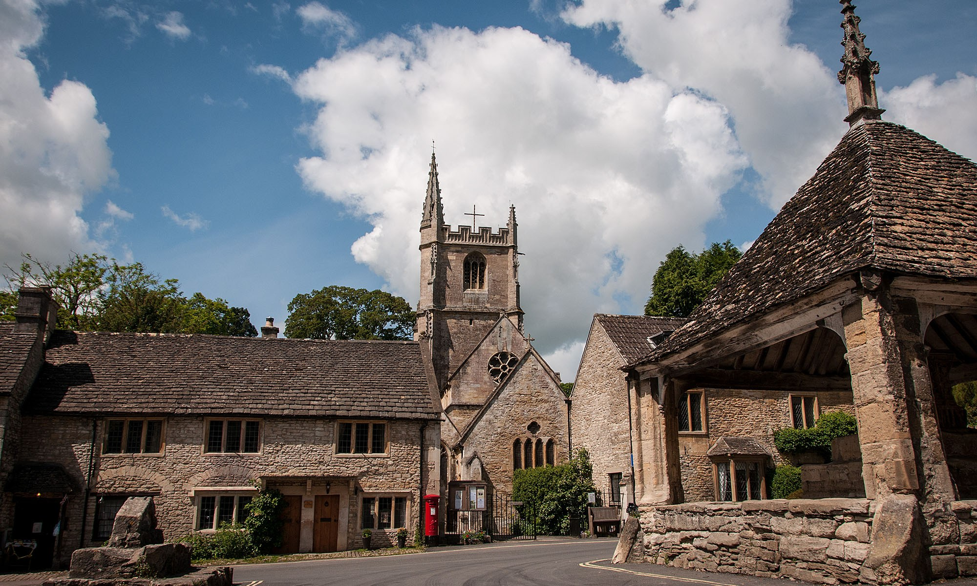 Castle Combe Village Wiltshire