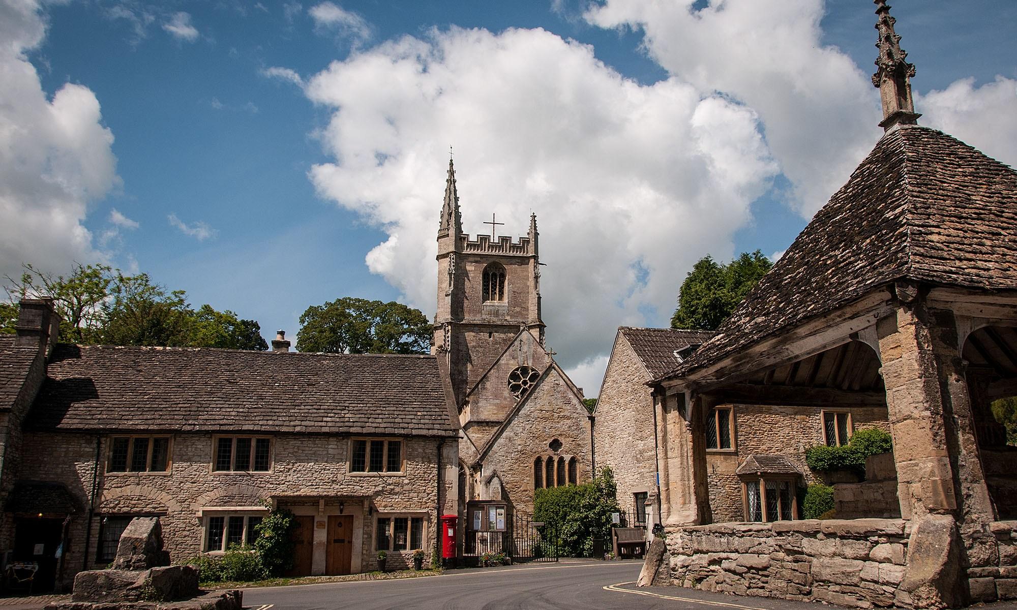 Castle Combe Village Wiltshire