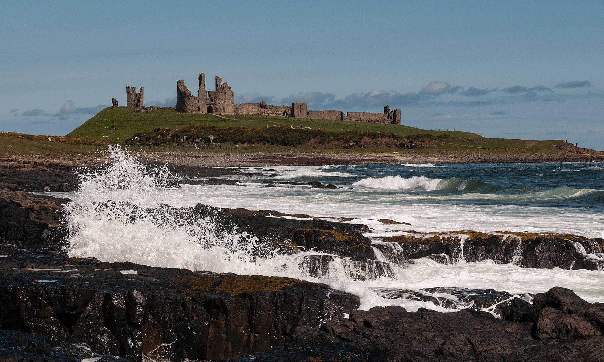 Dunstanburgh Castle on the Coast