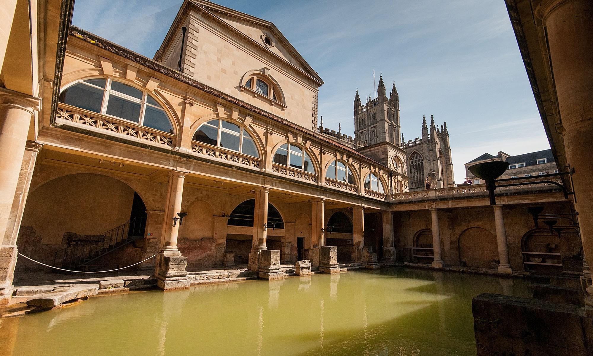The Grand Bath, Roman Bath