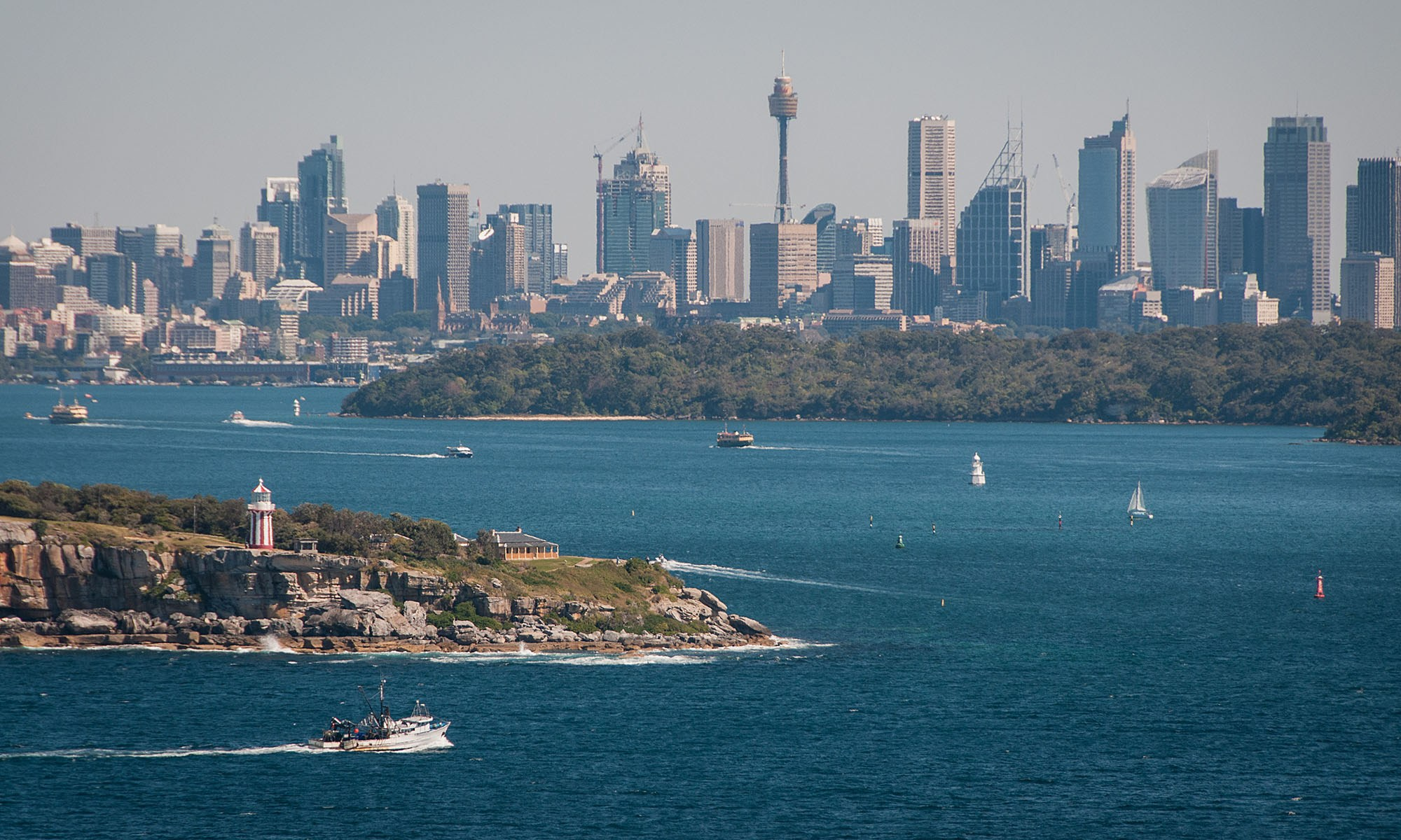 Sydney from North Head