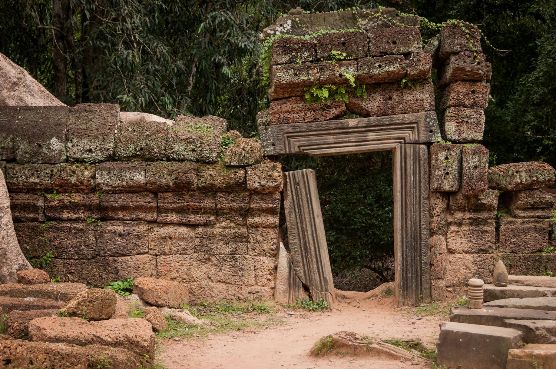 Doorway at Ta Prohm