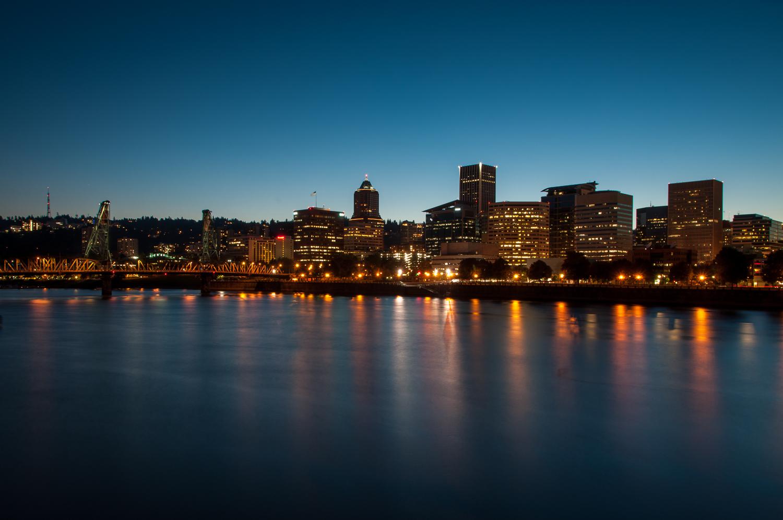 Portland Skyline - Ed O'Keeffe Photography