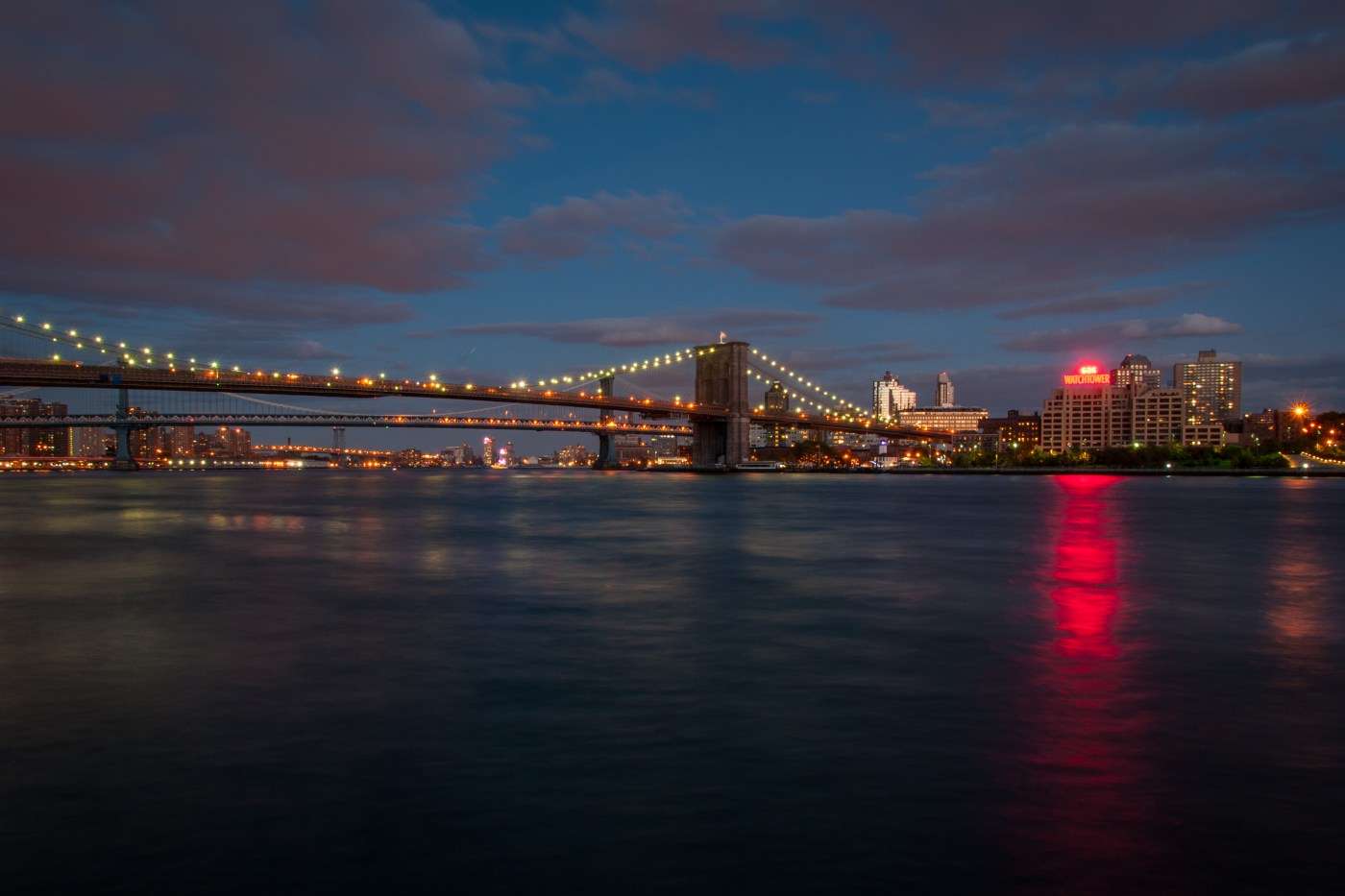 Bridges over the East River