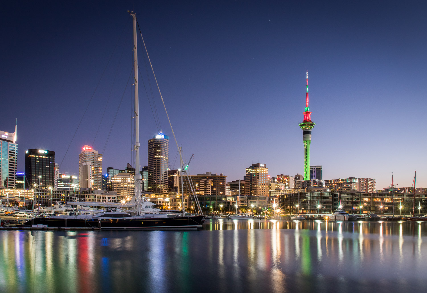 Viaduct Basin Auckland