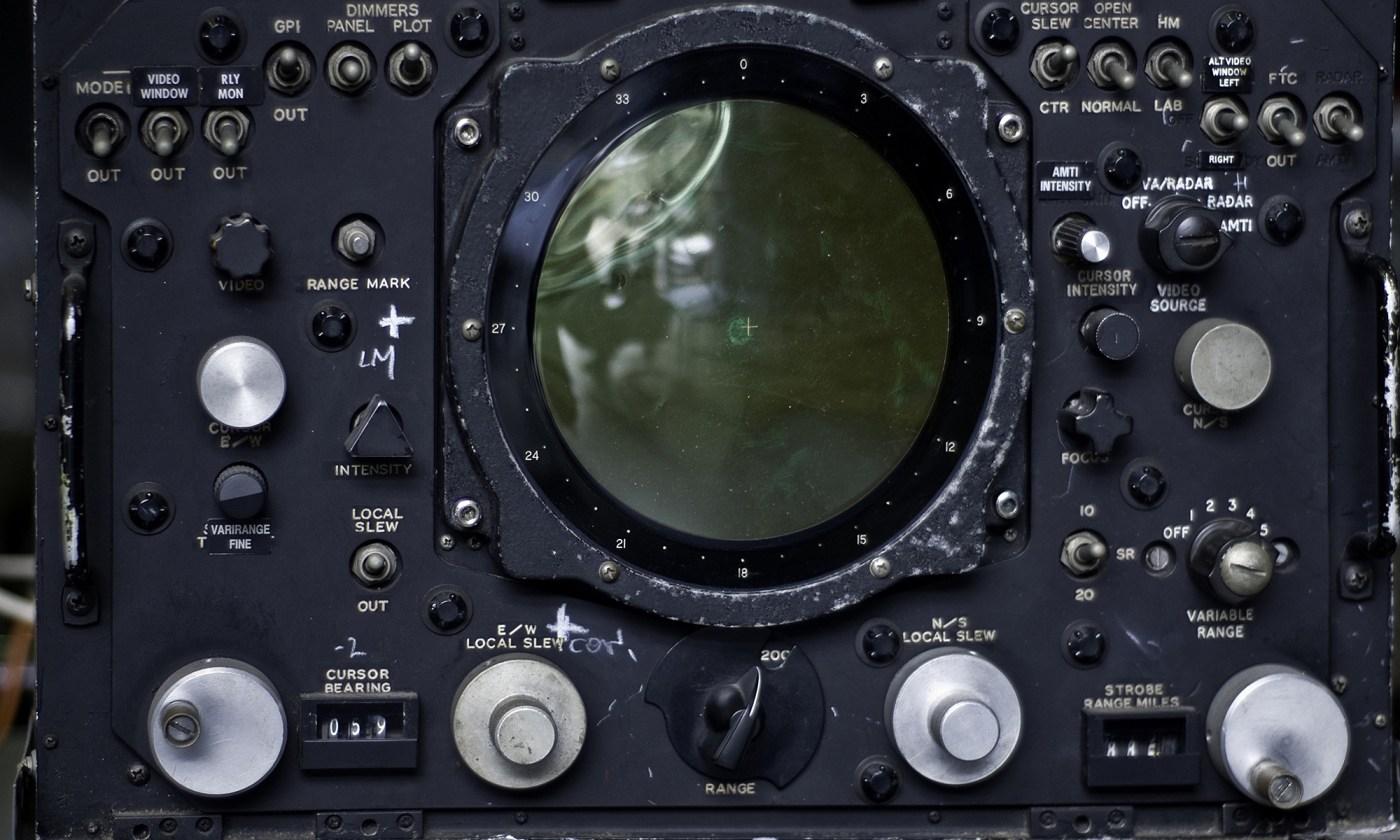 Aircraft Radar Operators Console