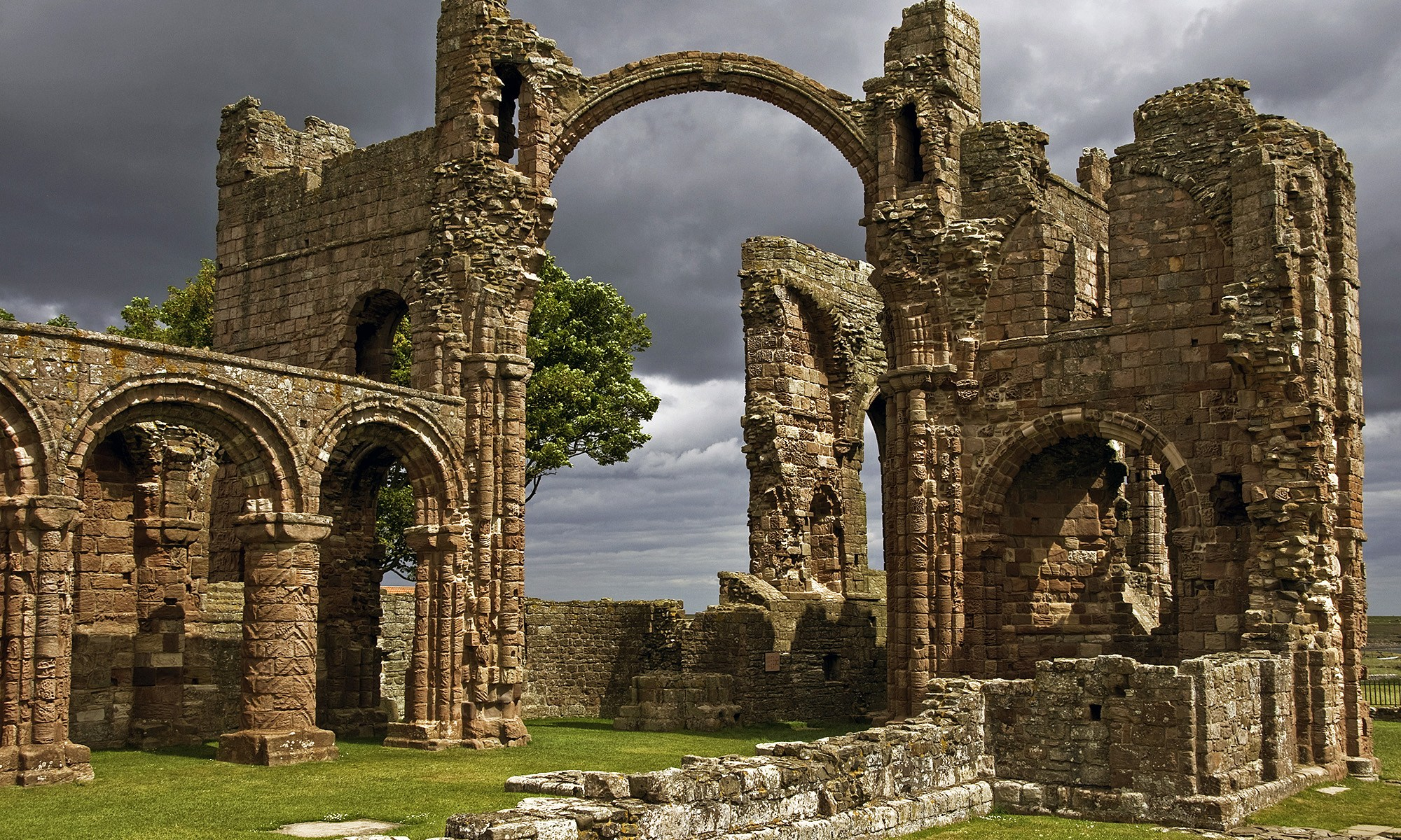 Archway at Lindisfarne Priory