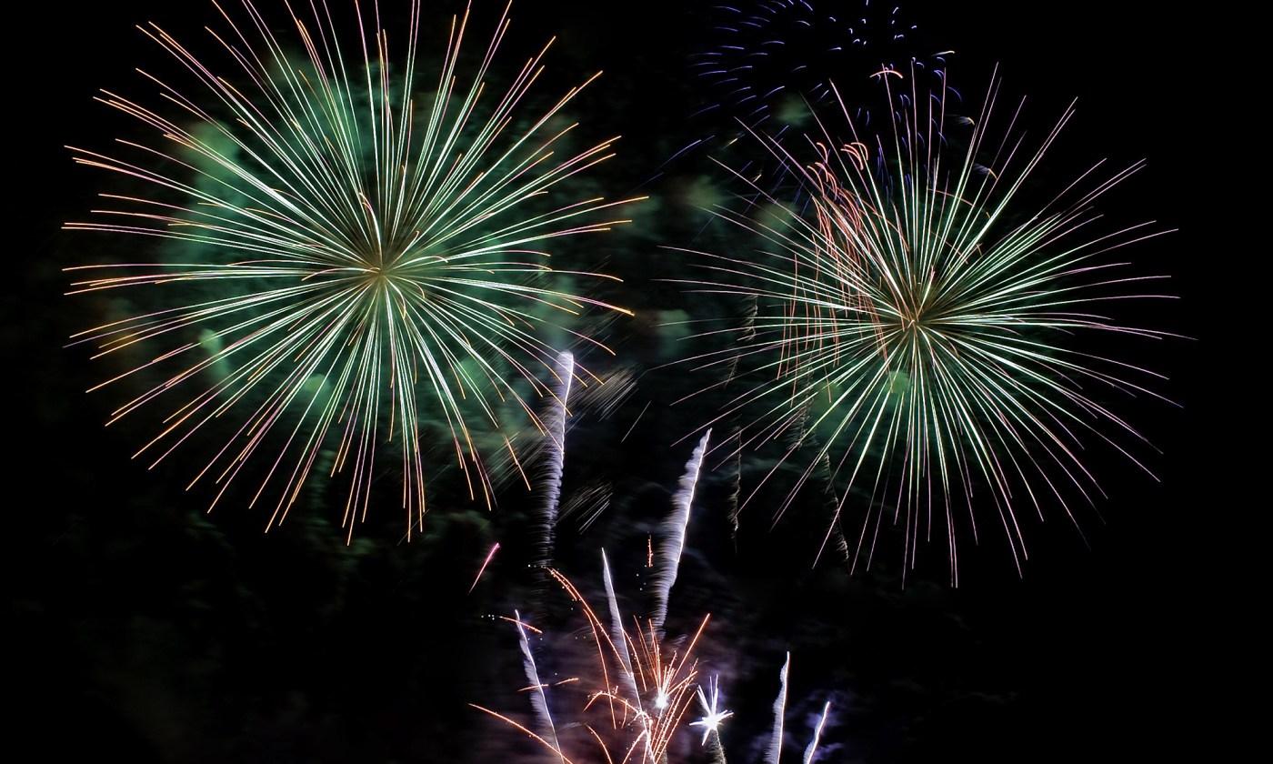 British Firework Championship in Salford