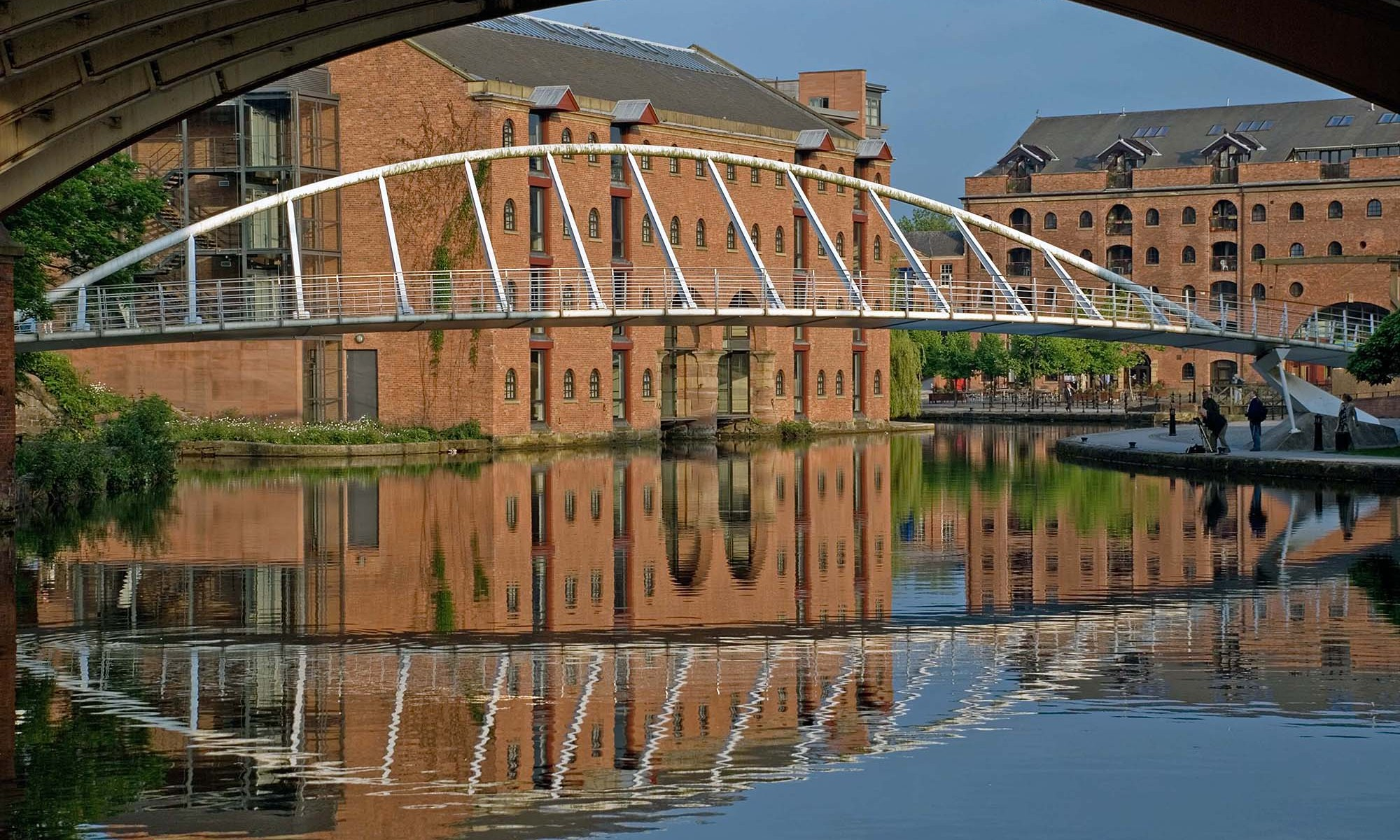 Castlefield foot bridge
