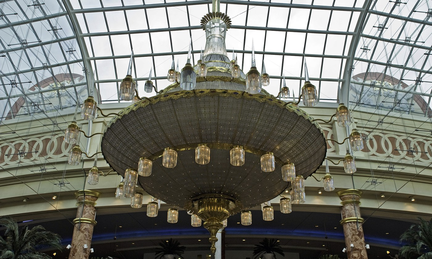 Chandelier at Trafford Centre Main Entrance