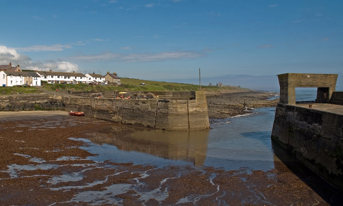 Craster Harbor, Northumberland