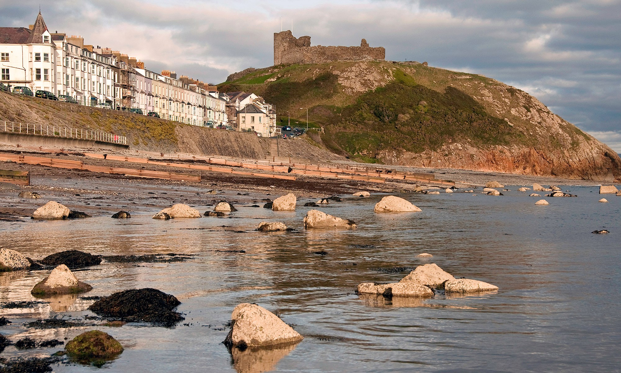 Criccieth Castle at Dusk
