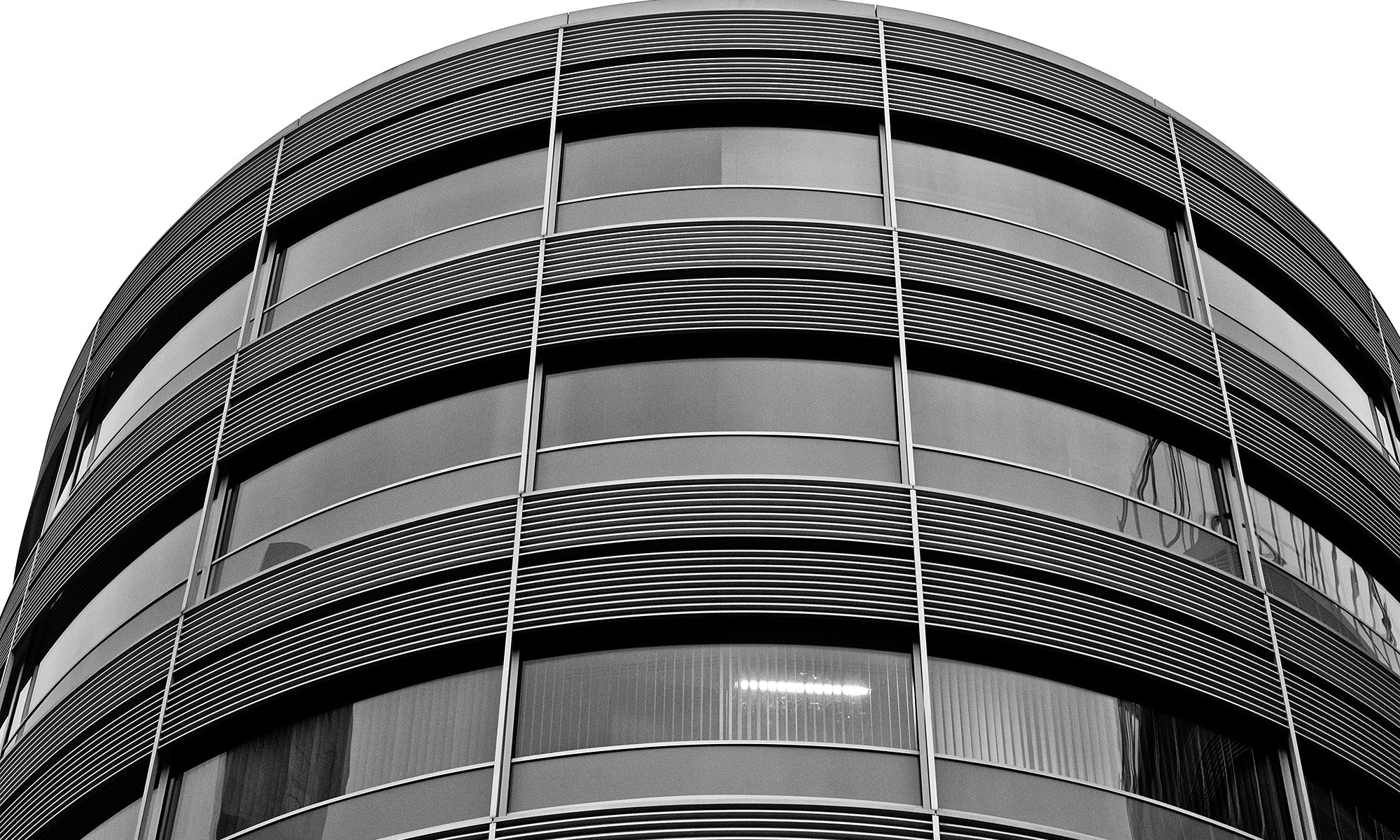 Curved Office Building, Spinningfields, Manchester