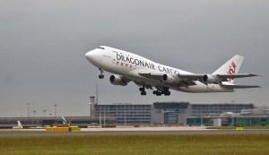 Dragonair Cargo Boeing 747 Plane