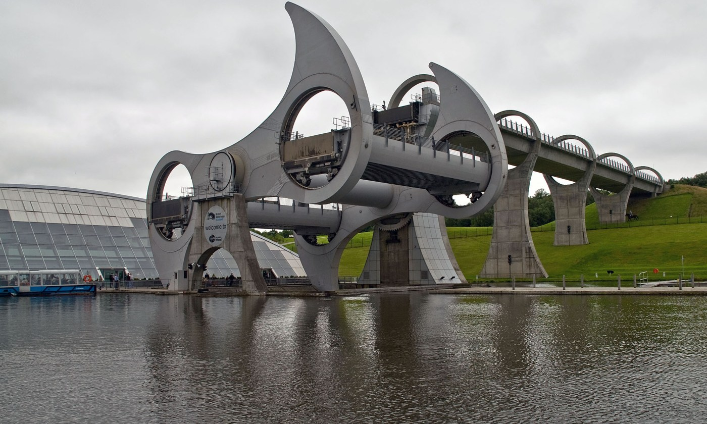 Falkirk Wheel, ScotlandFalkirk Wheel, Scotland