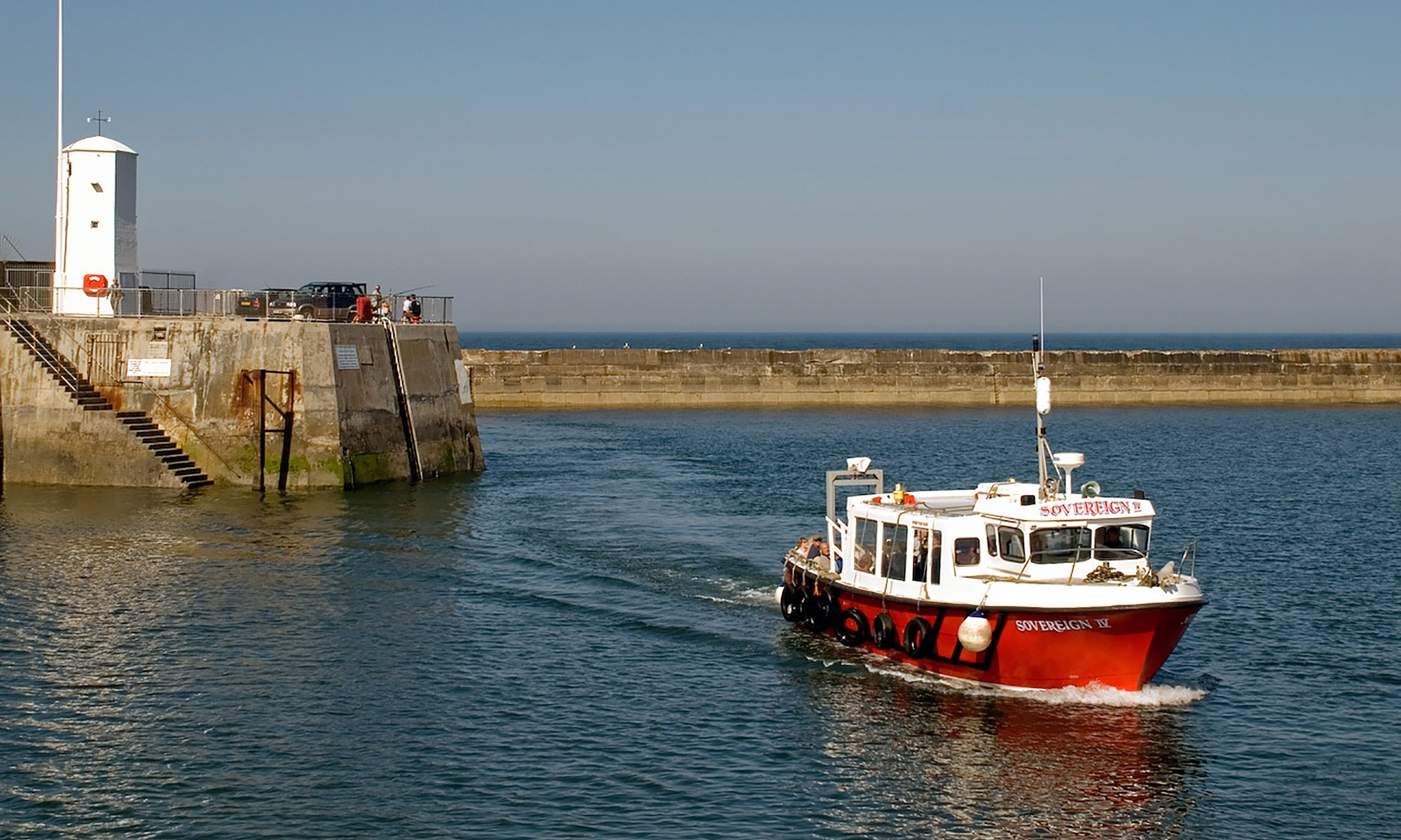 Boat at Seahouses, Northumberland