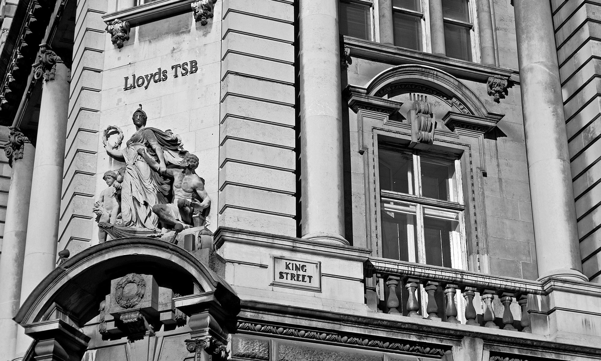 Lloyds TSB on King Street, Manchester