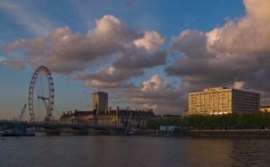 London Eye and St. Thomas Hospital