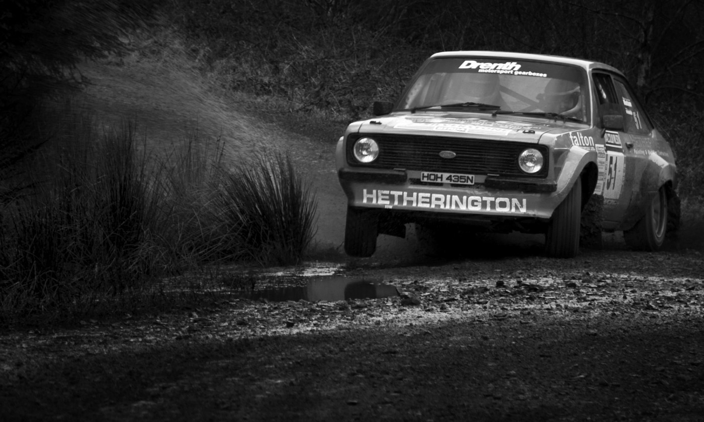 Ford Escort MKII at Malcolm Wilson Rally