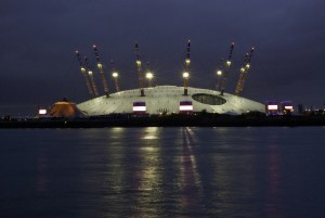 Millennium Dome at Night