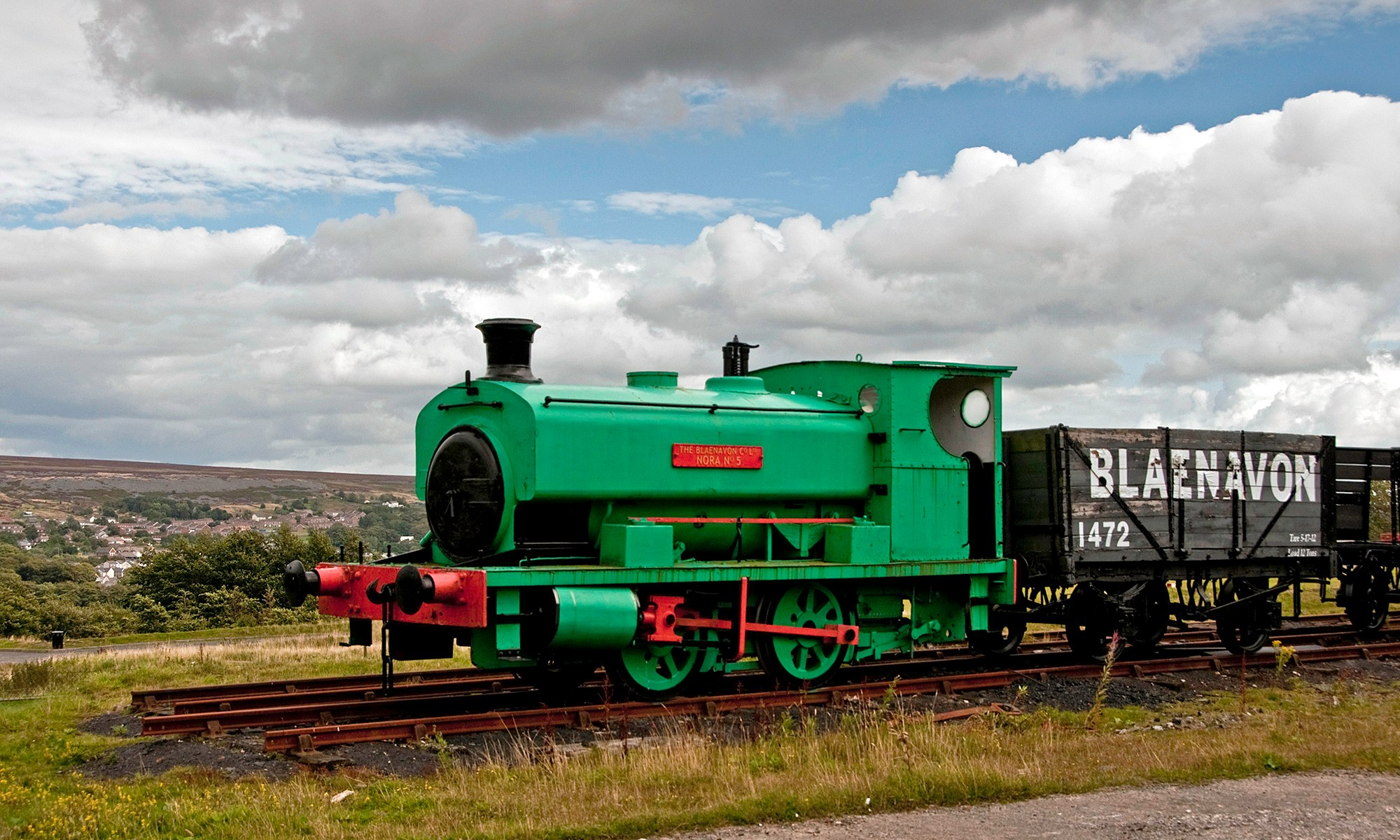 Nora 5 Engine at Blaenavon