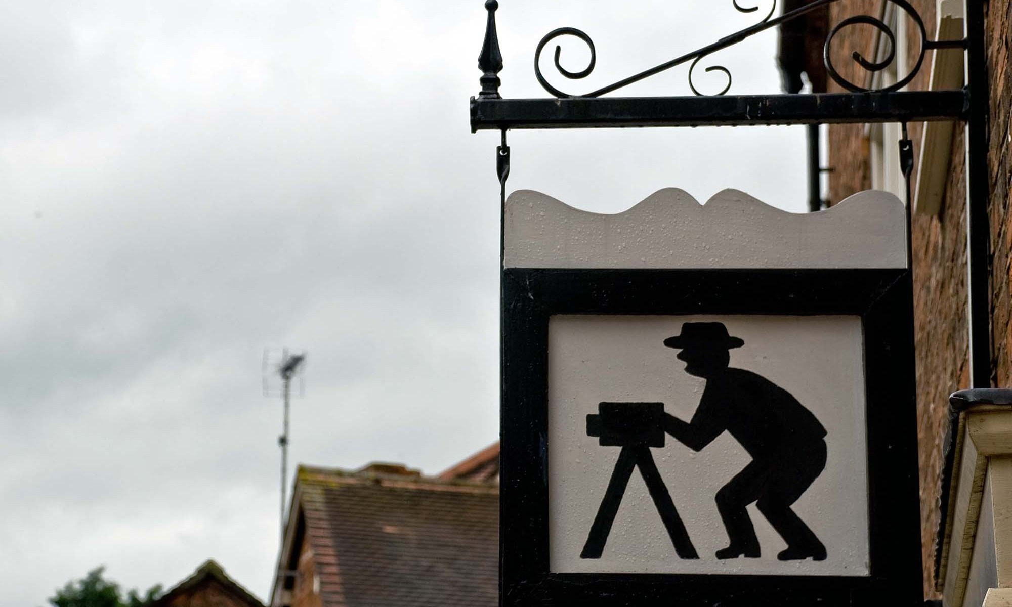 Photographer Sign, Nantwich
